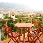 Deck en madera Terrazas, balcones, Kioscos y espacios al aire libre- Balcón con Deck en Teca.JPG